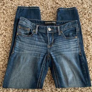 Express skinny low rise women's jeans sz 2S